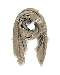 Forever 21 | Brown Striped Scarf | Lyst