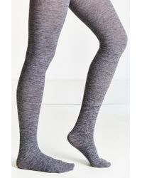 Urban Outfitters - Gray Fleece Lined Full Tight - Lyst