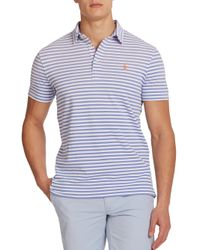 Polo Ralph Lauren | Blue Striped Featherweight Polo for Men | Lyst