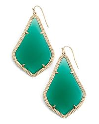 Kendra Scott | Metallic 'alexandra' Large Drop Earrings | Lyst