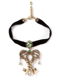 Dolce & Gabbana | Metallic Key Pendant Necklace | Lyst
