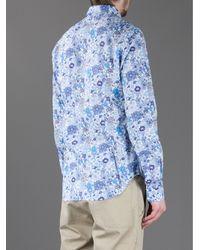 Robert Friedman - Multicolor Floral Print Shirt for Men - Lyst