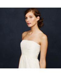 J.Crew - White Clarice Gown - Lyst