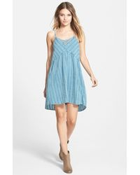 Billabong - Blue 'Midnight Dreamin' Slipdress - Lyst