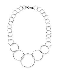 Ippolita | Metallic 'glamazon' Graduated Wavy Necklace | Lyst