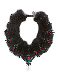 Ellen Conde - Dipped In Black Rhodium Necklace - Lyst