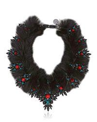 Ellen Conde   Dipped In Black Rhodium Necklace   Lyst
