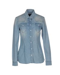 Re-hash - Blue Denim Shirt - Lyst