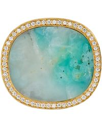 Monique Péan - Blue Monique Péan Cocktail Ring-Colorless - Lyst