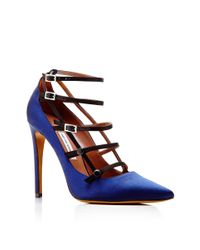 Tabitha Simmons - Blue Josephina Strappy Leather Pumps - Lyst