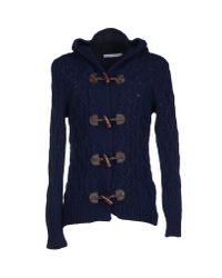 Relive - Blue Cardigan - Lyst