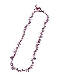 Nakamol - Multicolor Stone Shards Necklace-amethyst - Lyst