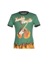 Frankie Morello | Green T-shirt for Men | Lyst