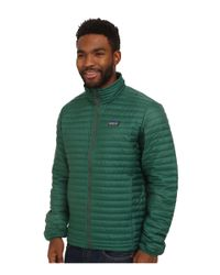 Patagonia | Green Down Shirt for Men | Lyst