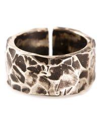 Henson - Metallic Split Ring - Lyst