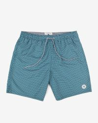 Ted Baker | Green Printed Swim Shorts for Men | Lyst