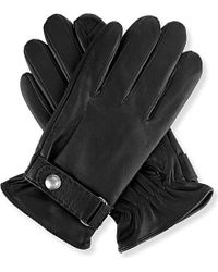 Ralph Lauren | Black Nappa Touch Screen Gloves for Men | Lyst