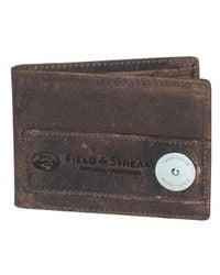 Field & Stream - Brown Ogden Front Pocket Slimfold for Men - Lyst