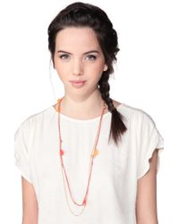 Room Service - Red Necklace / Longcollar - Lyst