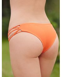 Free People | Orange Acacia Womens La Riviera Bottoms | Lyst