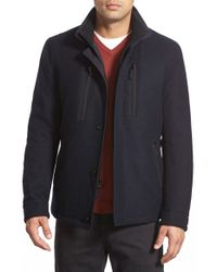 Sanyo | Blue 'hill 28' Car Coat for Men | Lyst
