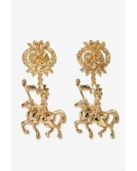 Nasty Gal | Metallic Night In Shining Armor Earrings | Lyst