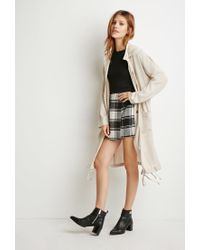 Forever 21 | Natural Contemporary Drapey Drawstring Utility Jacket | Lyst