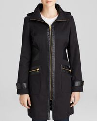 Via Spiga | Black Coat | Lyst