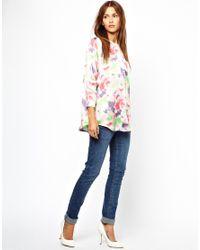 Cheap Monday | White 34 Length Sleeve Shirt | Lyst