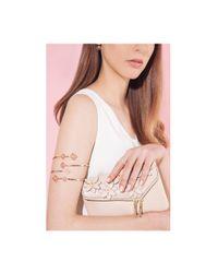 Henri Bendel | Pink Petal Arm Cuff | Lyst