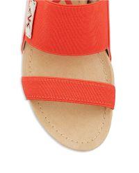 Anne Klein | Red Teatime Slingback Sandals | Lyst