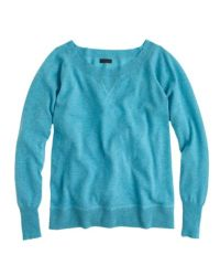 J.Crew - Blue Collection Cashmere Sweatshirt - Lyst