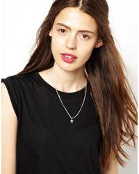 Zoe & Morgan - Green Zoe  Morgan Galaxy Star Necklace - Lyst