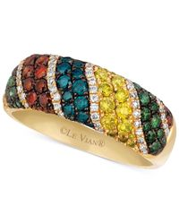 Le Vian | Metallic Diamond Patterned Mixberry Ring (1-1/10 Ct. T.w.) In 14k Gold | Lyst