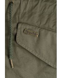 Woolrich - Prescott Eskimo Cotton Jacket - Green - Lyst