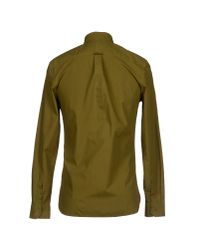 Hardy Amies - Green Shirt for Men - Lyst
