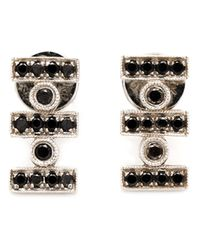 Dana Rebecca | Black 'reese Brooklyn' Stud Earrings | Lyst