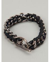 Tobias Wistisen | Black Chain Bracelet for Men | Lyst