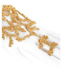 Giuseppe Zanotti | Metallic Ariel Vintage Hand Bracelet | Lyst