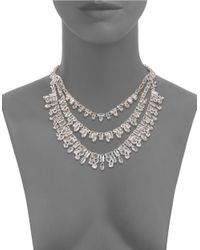 Kate Spade | Metallic Catching Light Collar Necklace | Lyst