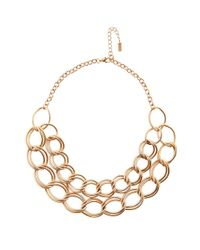 Hobbs | Metallic Clara Necklace | Lyst