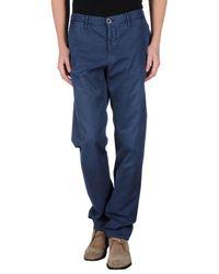 Incotex - Blue Casual Trouser for Men - Lyst