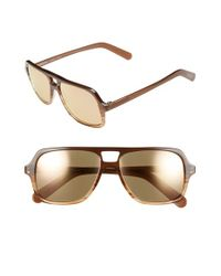 Randolph Engineering | Brown 'norwich' 56mm Sunglasses for Men | Lyst