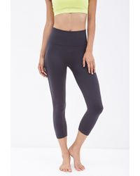 Forever 21 - Gray Active Seamless Workout Leggings - Lyst