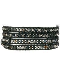 Chan Luu | 32' Black Sardonyx Mix Crystal Wrap Bracelet | Lyst