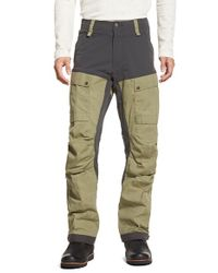 Fjallraven | Green 'keb' Trekking Pants for Men | Lyst