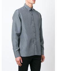 Lanvin - Blue Classic Shirt for Men - Lyst