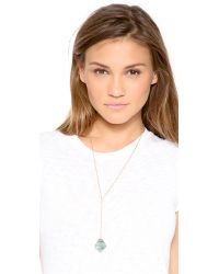 Heather Hawkins - Blue Cubism Y Necklace - Lyst