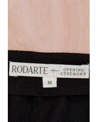 Nasty Gal - Black Vintage Rodarte + Opening Ceremony Lace-Up Pant - Lyst