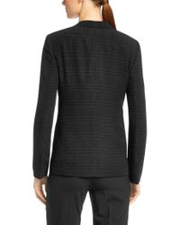 BOSS - Black 'jurelli' | Cloque Plaid Blazer - Lyst